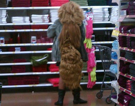 Hmmmm. Must be Walmart.
